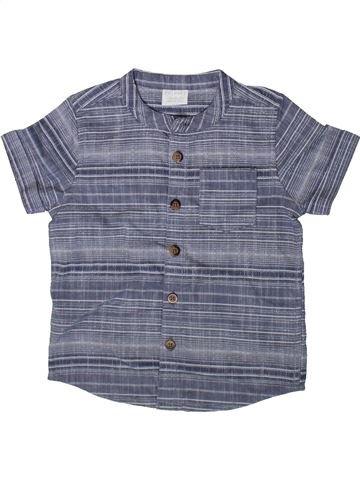 Chemise manches courtes garçon F&F gris 2 ans été #1369146_1