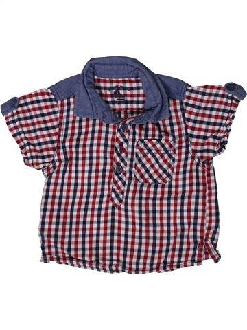 Camisa de manga corta niño MATALAN violeta 3 meses verano #1369314_1