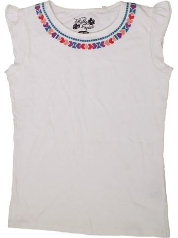 T-shirt sans manches fille C&A blanc 12 ans été #1369346_1