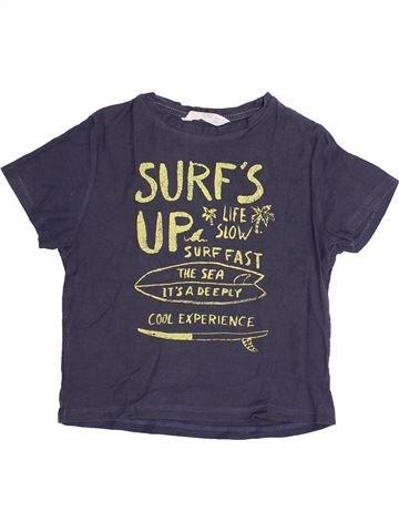 T-shirt manches courtes garçon MANGO bleu 4 ans été #1369366_1