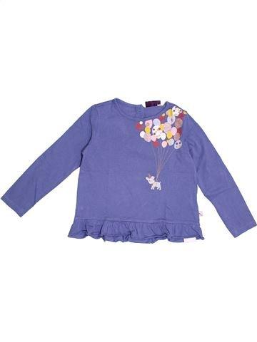 T-shirt manches longues fille SERGENT MAJOR violet 4 ans hiver #1369421_1