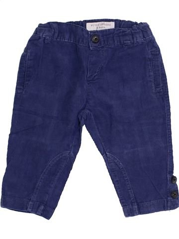 Pantalon garçon BUISSONNIERE bleu 6 mois hiver #1369547_1