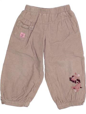 Pantalon fille ABSORBA gris 2 ans hiver #1369584_1