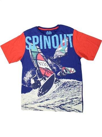 T-shirt manches courtes garçon MARKS & SPENCER bleu 14 ans été #1369618_1