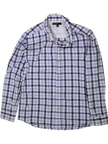 Chemise manches longues garçon MARKS & SPENCER gris 11 ans hiver #1369715_1