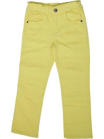 Pantalon fille H&M jaune 5 ans été #1369741_1