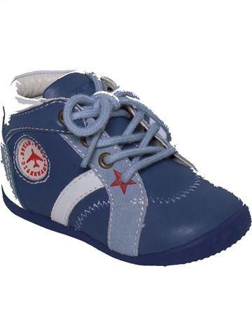 d933aa292b7 Zapatos con cordones niño VERTBAUDET azul 20 invierno  1370010 1