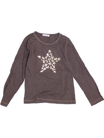 T-shirt manches longues fille 3 POMMES gris 6 ans hiver #1370057_1