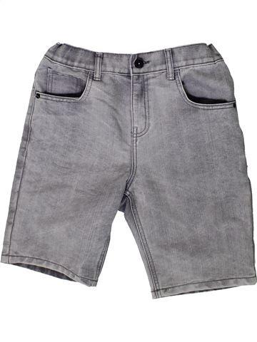 Short - Bermuda garçon F&F gris 12 ans été #1370094_1