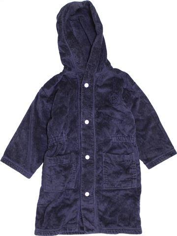 Peignoir garçon PETIT BATEAU bleu 4 ans hiver #1370100_1