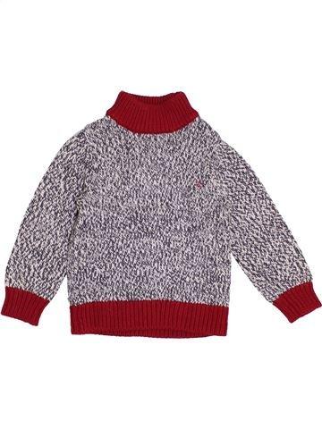 jersey niño PETIT BATEAU gris 3 años invierno #1370313_1