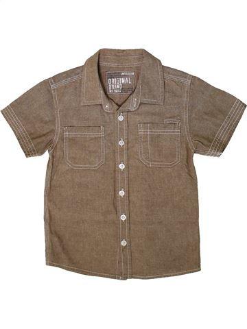 Camisa de manga corta niño MATALAN marrón 5 años verano #1370321_1