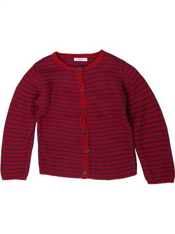 Gilet fille BOUT'CHOU rouge 3 ans hiver #1370382_1