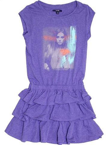 Robe fille KIABI violet 10 ans été #1370501_1