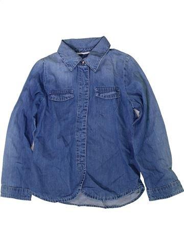 Blouse manches longues fille LISA ROSE bleu 5 ans hiver #1370759_1