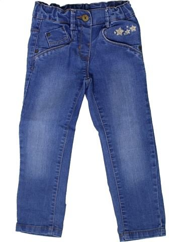 Pantalon fille KIABI bleu 3 ans hiver #1370937_1