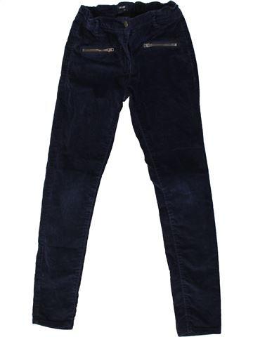 Pantalon fille KIABI noir 8 ans hiver #1370966_1