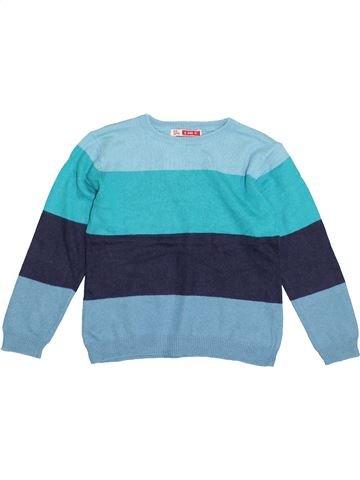 Pull garçon DPAM bleu 4 ans hiver #1371006_1