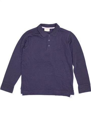 Polo de manga larga niño DPAM azul 8 años invierno #1371011_1