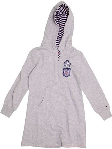 Robe fille TOMMY HILFIGER blanc 7 ans hiver #1371100_1