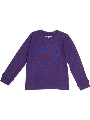 T-shirt manches longues fille BELLEROSE violet 6 ans hiver #1371110_1