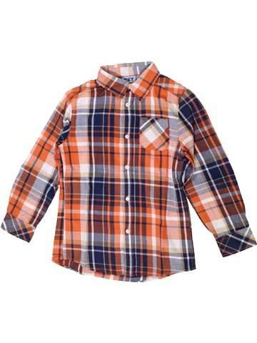 Chemise manches longues garçon KIABI marron 8 ans hiver #1371114_1