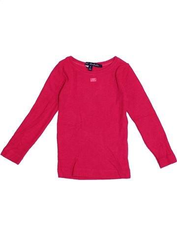T-shirt manches longues fille LILI GAUFRETTE rose 2 ans hiver #1371128_1