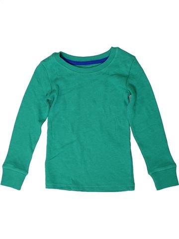 T-shirt manches longues garçon MARKS & SPENCER vert 3 ans hiver #1371242_1