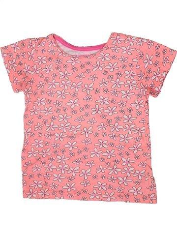 T-shirt manches courtes fille PRIMARK rose 8 ans été #1371280_1