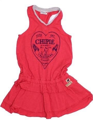 Vestido niña CHIPIE rojo 5 años verano #1371298_1