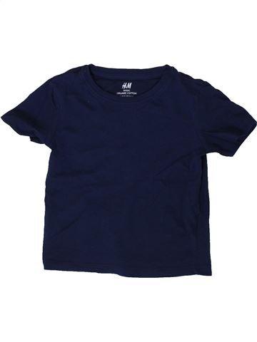 T-shirt manches courtes garçon H&M noir 2 ans été #1371333_1