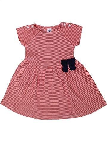 Robe fille PETIT BATEAU rose 2 ans été #1371405_1