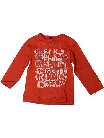 Camiseta de manga corta niño CREEKS rojo 4 años verano #1371436_1