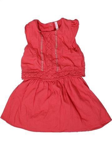Robe fille GEMO rose 2 ans été #1371490_1