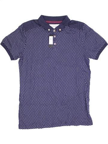 Polo manches courtes garçon RIVER ISLAND violet 12 ans été #1371496_1