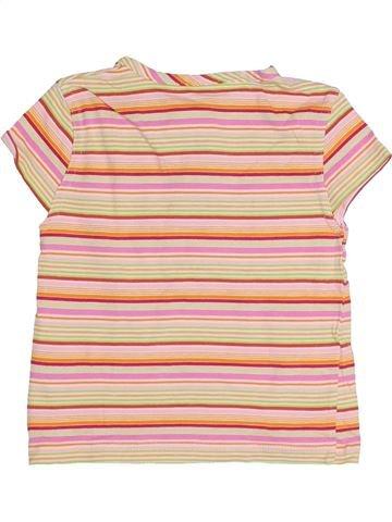 Camiseta de manga corta niña SANS MARQUE beige 3 años verano #1371499_1