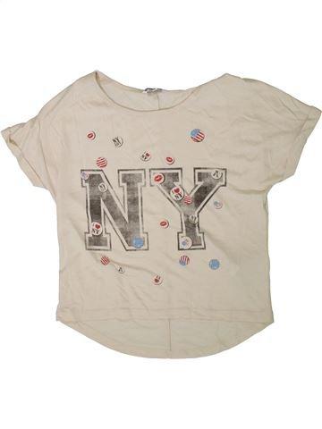 Camiseta de manga corta niña NEW LOOK beige 13 años verano #1371858_1