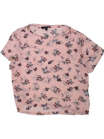 Camiseta de manga corta niña NEW LOOK beige 13 años verano #1372109_1