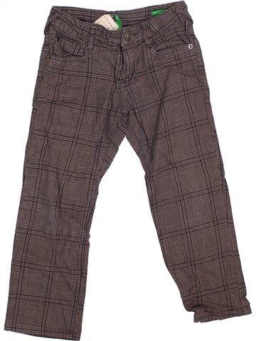 Pantalón niño BENETTON marrón 4 años invierno #1372143_1