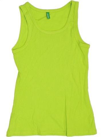Top - Camiseta de tirantes niño BENETTON verde 9 años verano #1372272_1