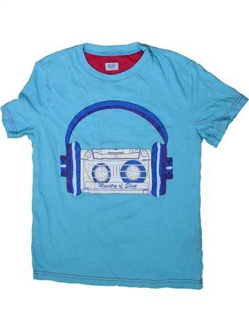 Camiseta de manga corta niño F&F azul 10 años verano #1372517_1