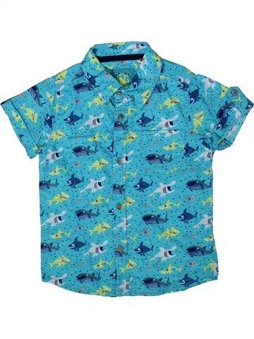 Camisa de manga corta niño TU azul 3 años verano #1372650_1