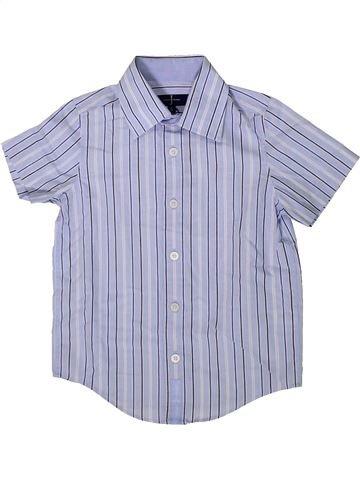 Chemise manches courtes garçon JASPER CONRAN bleu 4 ans été #1372702_1