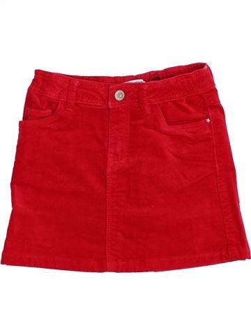 Falda niña OKAIDI rojo 8 años invierno #1372913_1