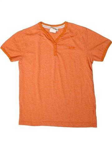 T-shirt manches courtes garçon LEE COOPER orange 11 ans été #1373109_1