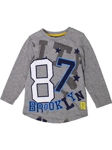 Camiseta de manga larga niño NUTMEG gris 3 años invierno #1373260_1
