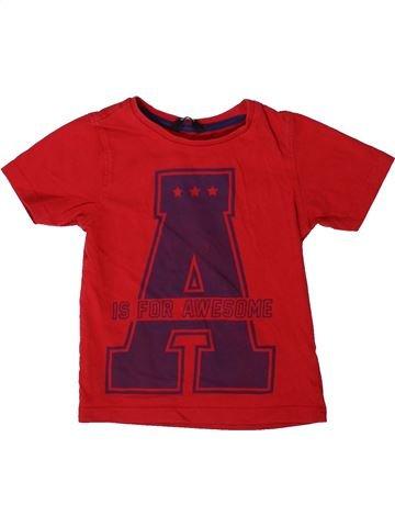 Camiseta de manga corta niño GEORGE rojo 5 años verano #1373419_1