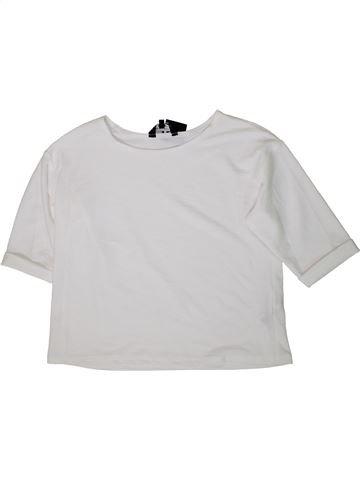 Camiseta de manga corta niña NEW LOOK blanco 15 años verano #1373545_1