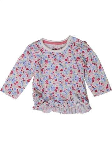 T-shirt manches longues fille PRIMARK gris 3 mois hiver #1373599_1
