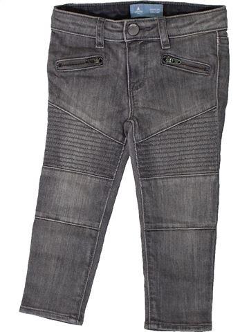 Pantalón niño GAP gris 2 años invierno #1373688_1